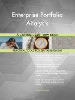 Enterprise Portfolio Analysis A Complete Guide - 2019 Edition