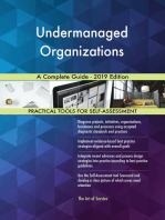 Undermanaged Organizations A Complete Guide - 2019 Edition