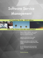 Software Service Management A Complete Guide - 2019 Edition