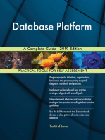 Database Platform A Complete Guide - 2019 Edition