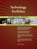 Technology Portfolios A Complete Guide - 2019 Edition
