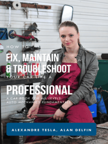 How to Fix, Maintain & Troubleshoot Your Car like a Professional: A Car Book for All Levels: Auto Mechanics Fundamentals