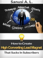 How to Create High Converting Lead Magnet That Sucks In Subscribers