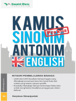 Kamus Praktis Sinonim-Antonim English