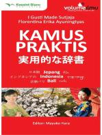 Kamus Praktis Jepang-Indonesia-Bali