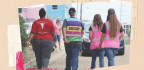 The 'Escorts' Who Ward Off Anti-abortion Protesters At Mississippi's Lone Clinic