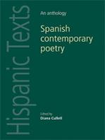 Spanish contemporary poetry