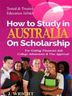 How to study in Australia on Scholarship