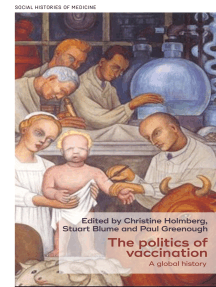 The politics of vaccination: A global history