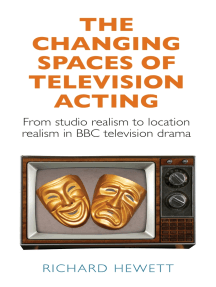 The changing spaces of television acting: From studio realism to location realism in BBC television drama