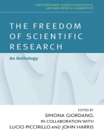 The freedom of scientific research
