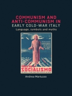 Communism and anti-Communism in early Cold War Italy: Language, symbols and myths