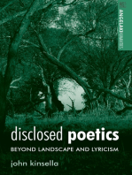 Disclosed poetics