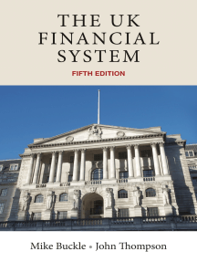 The UK financial system: Theory and practice, fifth edition