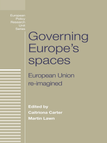Governing Europe's spaces: European Union re-imagined