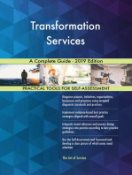 Transformation Services A Complete Guide - 2019 Edition