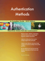 Authentication Methods A Complete Guide - 2019 Edition