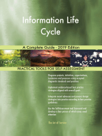 Information Life Cycle A Complete Guide - 2019 Edition