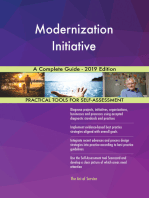 Modernization Initiative A Complete Guide - 2019 Edition