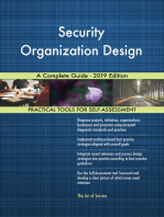Security Organization Design A Complete Guide - 2019 Edition