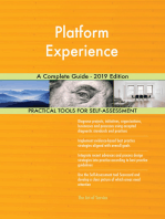 Platform Experience A Complete Guide - 2019 Edition