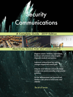 Security Communications A Complete Guide - 2019 Edition