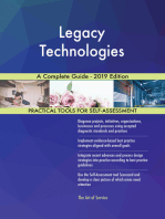 Legacy Technologies A Complete Guide - 2019 Edition