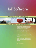 IoT Software A Complete Guide - 2019 Edition