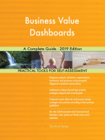 Business Value Dashboards A Complete Guide - 2019 Edition