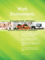 Work Environments A Complete Guide - 2019 Edition