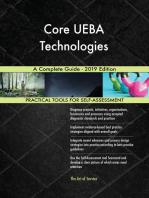 Core UEBA Technologies A Complete Guide - 2019 Edition