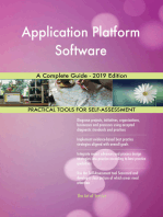 Application Platform Software A Complete Guide - 2019 Edition