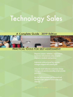 Technology Sales A Complete Guide - 2019 Edition