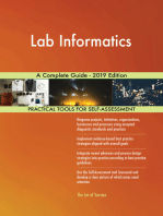 Lab Informatics A Complete Guide - 2019 Edition