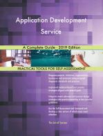 Application Development Service A Complete Guide - 2019 Edition