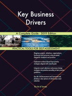 Key Business Drivers A Complete Guide - 2019 Edition
