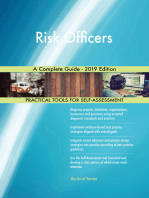 Risk Officers A Complete Guide - 2019 Edition