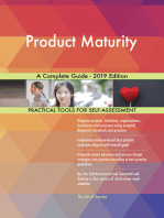 Product Maturity A Complete Guide - 2019 Edition