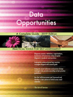 Data Opportunities A Complete Guide - 2019 Edition
