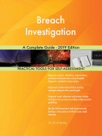 Breach Investigation A Complete Guide - 2019 Edition