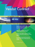 Vendor Contract A Complete Guide - 2019 Edition