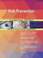 Risk Prevention A Complete Guide - 2019 Edition