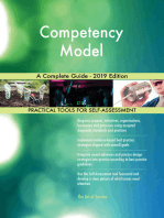 Competency Model A Complete Guide - 2019 Edition