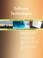 Software Technologies A Complete Guide - 2019 Edition