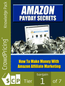 Amazon Payday Secrets: Amazon was a pioneer in affiliate marketing and has gone on from its early days to become one..