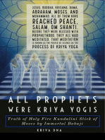 All Prophets were Kriya Yogis: Truth of Holy Fire Kundalini Stick of Moses by Immortal Babaji