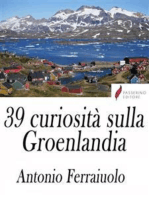 39 curiosità sulla Groenlandia