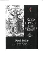 Rosa Croce Santi illuminati e Mistici