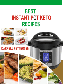 Best Instant Pot Keto Recipes: Healthy Instant Pot Recipes for Weight Loss