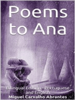 Poems to Ana: Bilingual Edition